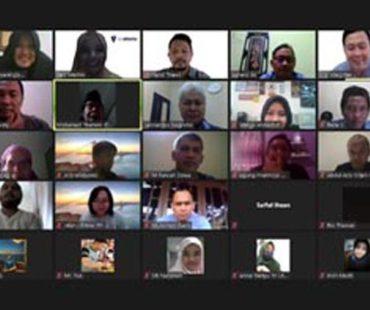 Kegiatan Visi Integritas, Pelatihan Online Mencegah Korupsi Pengadaan Barang Dan Jasa Pemerintah Selama Masa Pandemi Covid-19