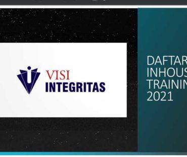 InHouse Training Visi Integritas 2021