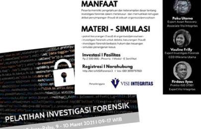 Pelatihan (Online) Investigasi Forensik